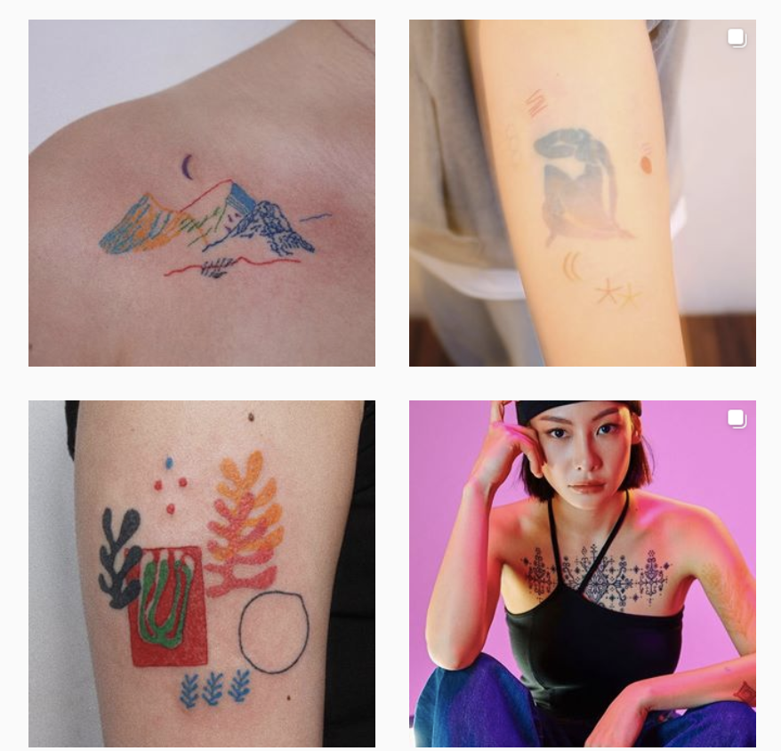 hand poke artist on instagram